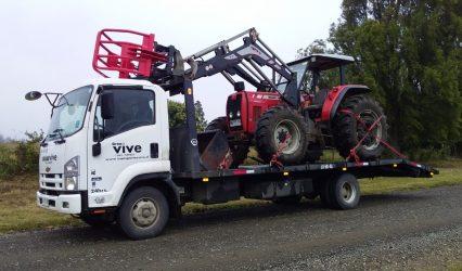 Traslado de Tractores
